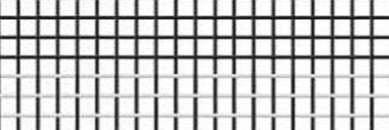 Weiß-schwarzes Fiberglasgewebe