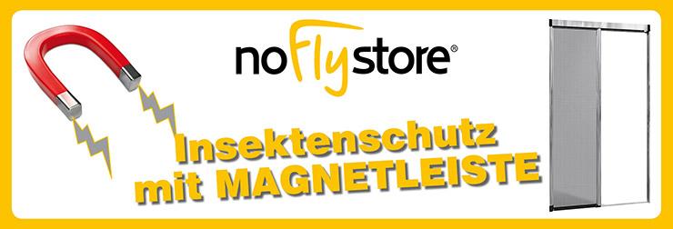Fliegengitter Insektenschutzsysteme mit Magnetprofil
